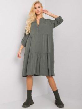 Sukienka-TW-SK-BI-5S1282.21X-khaki [zul]